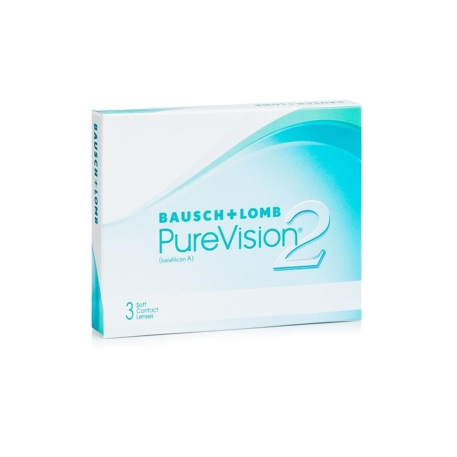 Lentile de contact sferice Bausch + Lomb PureVision2 HD 3 bucati Bausch + Lomb - 1