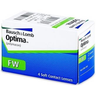 Lentile de contact sferice Bausch + Lomb Optima FW 4 bucati Bausch + Lomb - 1